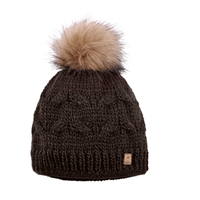 826aa560c20 Pikeur Fur Bobble Hat - Brown £21.95